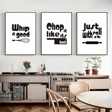 Kitchen Canvas Painting Pictures Nordic Posters and Prints Still Life Photos Wall for Home Decoration Unframed