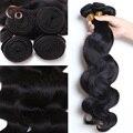 Personalizar 8-30 pulgadas onda del cuerpo del pelo virginal peruano onda del cuerpo Peruano extensiones de cabello humano 4 paquetes por lote paquetes de pelo