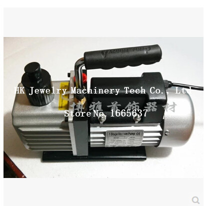 1L Vacuum Pump Can Use with Vacuum Wax Injector / Casting Machine, Jewelry Casting Machine Wholesale & Retail 3cfm jewelry casting machine with vacuum pump kaya mini casting machine vacuum investment casting machine for jewelry tools