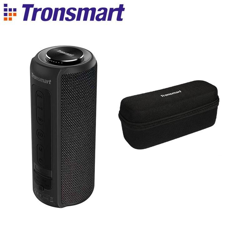 Tronsmart T6 Plus Bluetooth динамик до 40 Вт беспроводной Саундбар Bluetooth 5,0 IPX6 Водонепроницаемый динамик TWS для Iphone, Xiaomi - Цвет: Black with Case