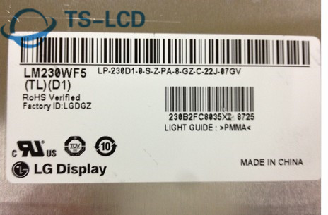 100% Test Original Grade A Good Quality LM230WF5 TLD1 TLF1 TLG1 23 Inch TFT-LCD Panel One Year Warranty