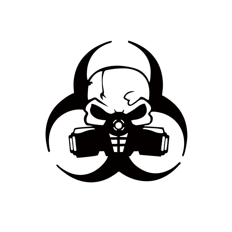 Personalized Car Stickers Decals Car Stying Biohazard