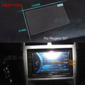 7 Inch GPS Navigation Screen Steel Protective Film For Peugeot 307 Control of LCD Screen Car Styling Sticker