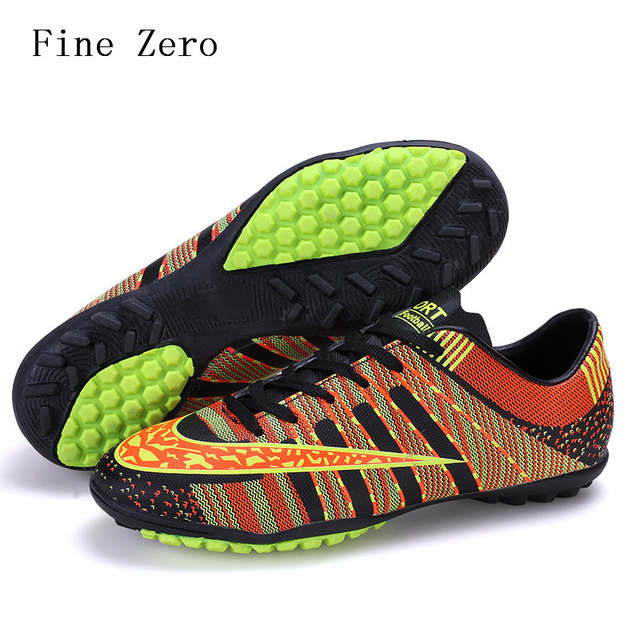 bf45d0bda4f Online Shop Men Boy Soccer Shoes Indoor Futsal Shoes Boys Football Boots  Kids Zapatillas Deporte Mujer Chaussure De Foot Size 33-45