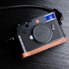 Original Wooden Quick Release L Plate / Bracket Hand Grip Holder Fit For leica M10 series