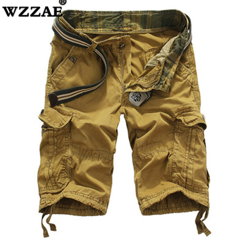 Mens Military Cargo Shorts 2018 Brand New Army Camouflage Tactical Shorts Men Cotton Loose Work Casual Short Pants Plus Size