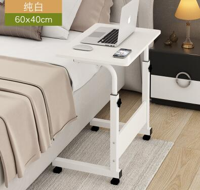 Simple mobile lift notebook desktop computer table lazy bed bedside table dormitory study desk. high quality simple notebook computer desk household bed table mobile lifting lazy bedside table office desk free shipping