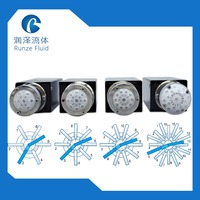 Communication 232/485/CAN Driven Selection Valve High Pressure Resistance