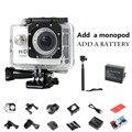 SJ7000 STYLE 720P HD sj 4000 Action Cam for go pro hero 4 Sport Video kamera mini camera Sport DV Add 1pcs battery + Monopod