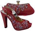 African shoe and bag set high heel italian shoe with matching bag best  ladies matching shoe and bag italy shoe and bag WTT1-3