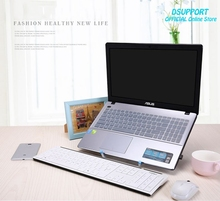 Folding Portable Laptop Stand Viewing Angle/Height Adjustable Quality Aluminum Alloy Bracket Support 10-17inch Notebook