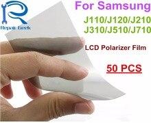50pcs Flex Cable Anti Static Polarizer Polarized Film For Samsung J110 J120 J210 J310 J510 J710 Polarization Light Polaroide