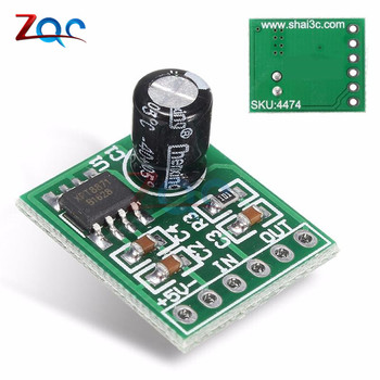 XH-M125 XPT8871 Mini Mono Stereo Lithium Battery Power Amplifier Board 6W Sing Machine Module 3v 5v 5W Audio Output Input image
