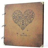 Scrapbook Álbum Eu Perca Impresso Estilo Vintage Presentes Gravação do Álbum de Scrapbook, Guestbook Do Casamento, Livro de Viagem