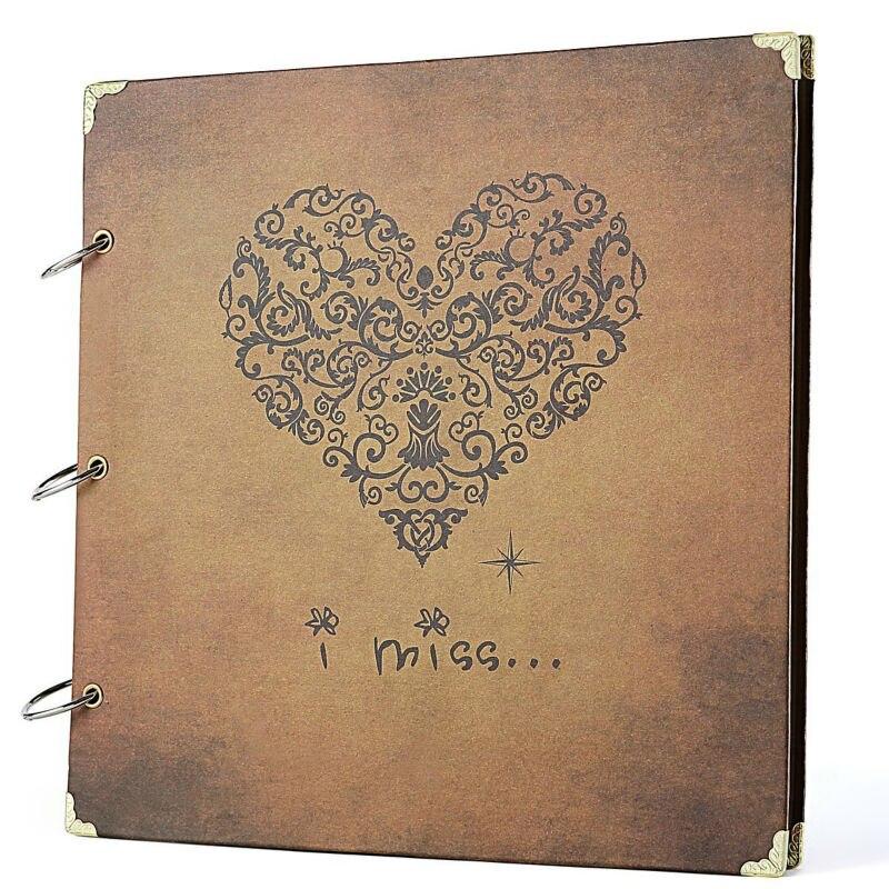 Personalised recuerdos especiales regalo de aniversario álbum de fotos libro memoria Scrapbook