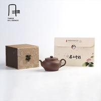 Ручной работы 200 мл Исин Чайник Фиолетовый глины Чайники чайник ручной работы китайский Zisha путешествия керамический чайник Пу эр Чай набор