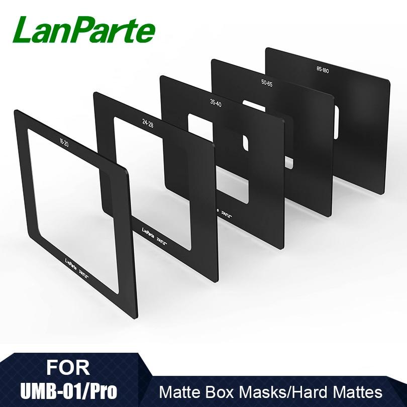LanParte Studio Hard Matte Mask Set (5 pcs) for Matte Box|Photo Studio Accessories| |  - title=