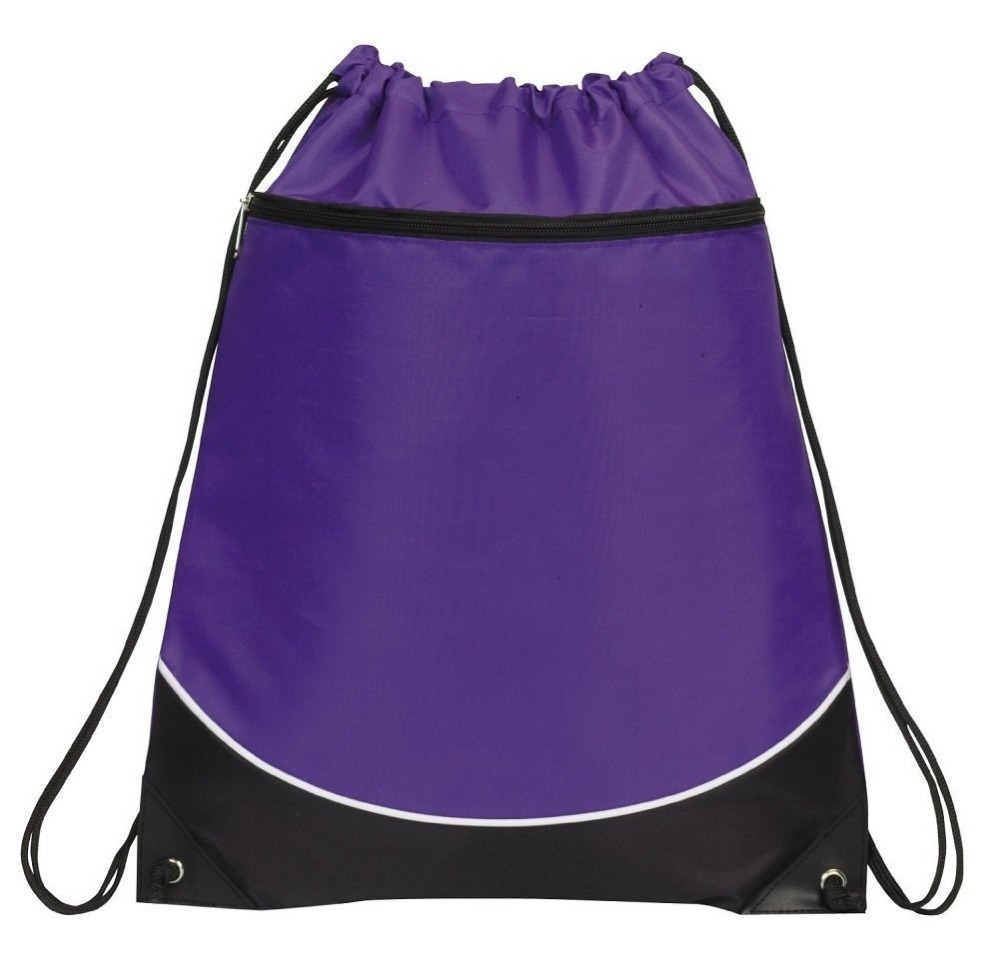 Portable Sack Cheap Drawstring Backpack Bag for Travel Draw String Bag for Books Shoes 005