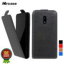 Новые поступления 100% Special Case PU Кожаный Флип Вверх и Вниз Case Для Nokia 6, Подарок