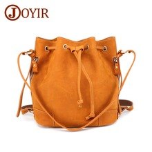 JOYIR Female Crazy Horse Leather Messenger Bag Genuine Women Shoulder Bags Ladies Leisure Travel Handbag Crossbody