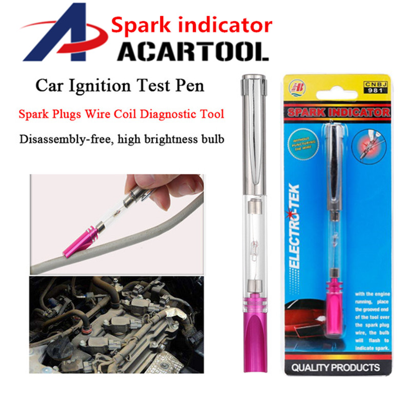 Car Ignition Spark Indicator Tester Tool Diagnostic For Spark Plugs Wires Coils