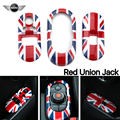 For Mini Cooper F56 F55 FUN/COOPER/S/EXCITENMENT Union Jack car interior moulding Window Lifter Switch Control Panel Cover