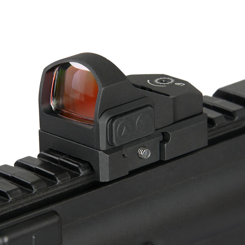 Canis Latrans Tactical Red Dot Sight 3MOA Red Dot Hunting Sight Fits 21 2mm Rail Picatinny