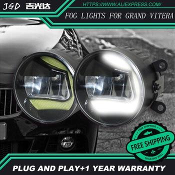 For Suzuki Grand Vitera LR2 Car styling front bumper LED fog Lights high brightness fog lamps 1set