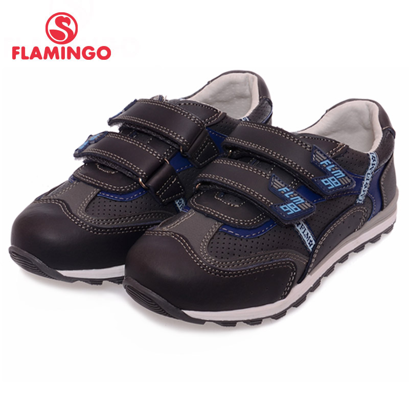 FLAMINGO 100% Russian Famous Brand 2016 New Arrival Spring & Autumn Kids Fashion High Quality shoes XP5836 high quality famous brand upscale 100