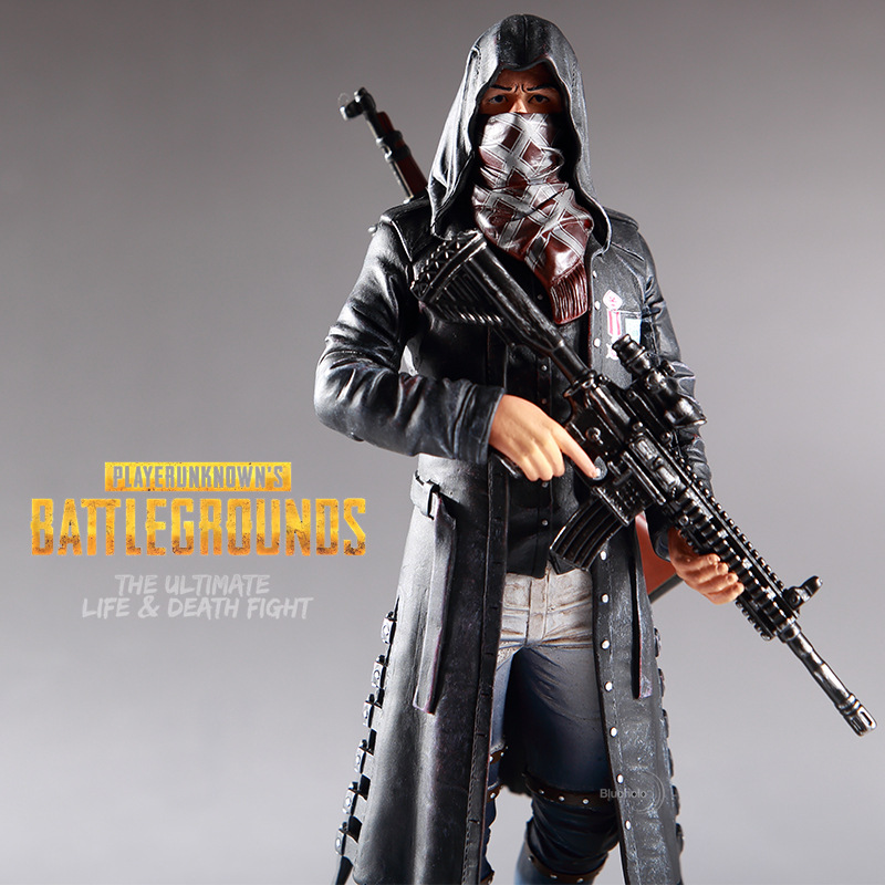 PUBG Action Figure Male Master 98K M416 Faith Suit Model