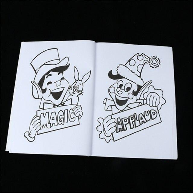 Online Shop HEY FUNNY free shipping Fun Magic Coloring Book Magic ...