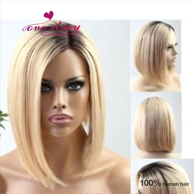 Blonde Wig With Roots 50