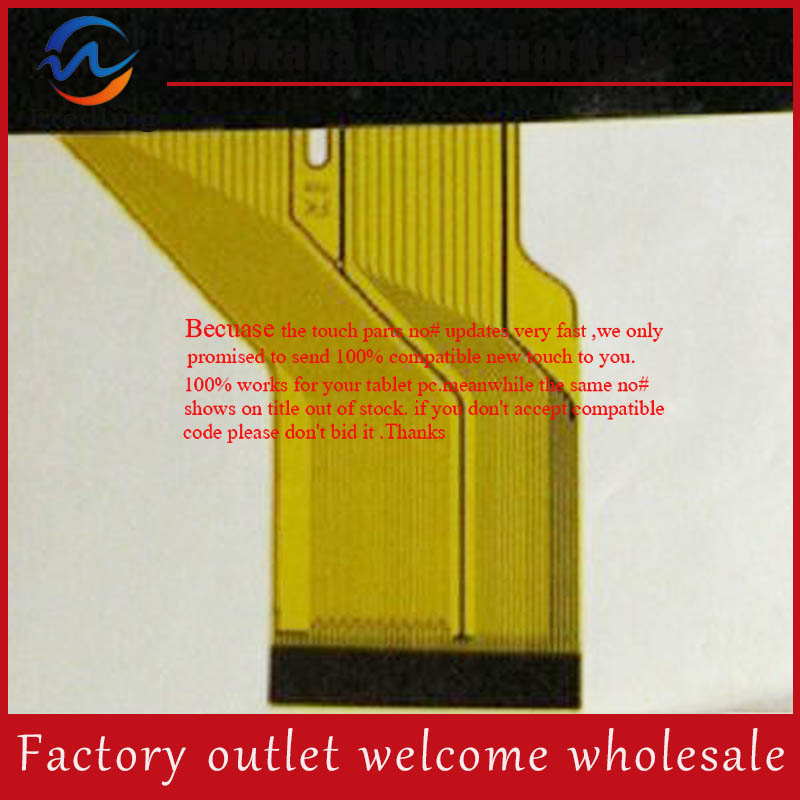 New 9 inch Tablet DH-09414a1-PG A2 Touch Screen Digitizer Touch Panel Sensor Glass Replacement Free Shipping new touch screen for 10 1 inch bdf tablet dh 1071a1 pg fpc232 touch panel digitizer glass sensor replacement free ship