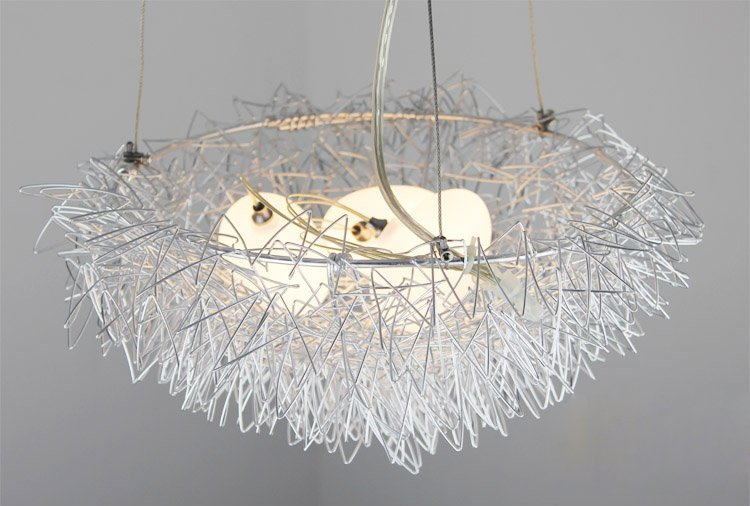 Free shipping wholesales bird nest light chandelier pendant lamp free shipping wholesales bird nest light chandelier pendant lamp residential lighting in power tool sets from tools on aliexpress alibaba group mozeypictures Image collections