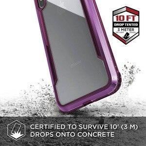 Image 3 - X Doria Verteidigung Schild Fall Für iPhone XR XS Max Military Grade Tropfen Geprüft Aluminium Fall Für iPhone X XS Max Schutzhülle