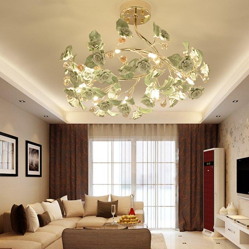 Beleuchtung Wohnzimmer Deckenleuchte Kristall Led Circular