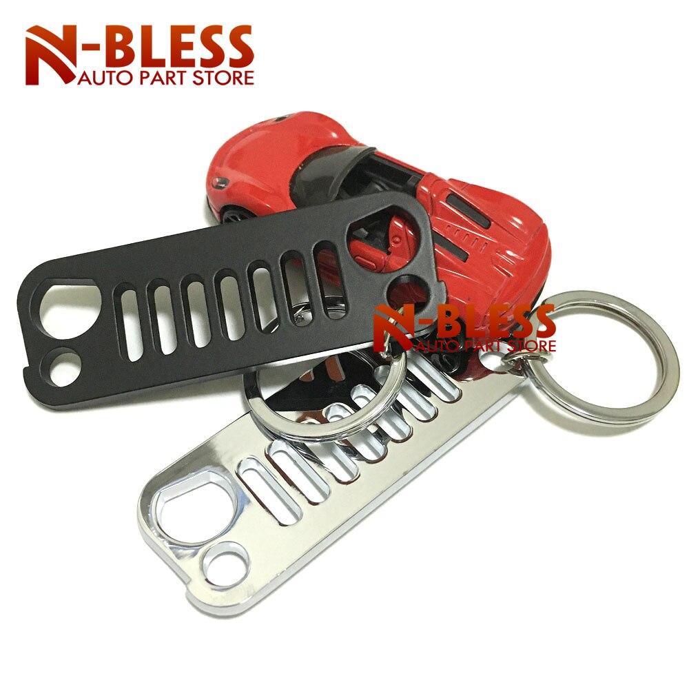 Cherokee Key Ring Red Keychain Flashlight Bottle Opener