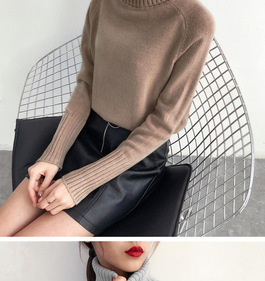 Surmiitro Sweater Female 19 Autumn Winter Cashmere Knitted Women Sweater And Pullover Female Tricot Jersey Jumper Pull Femme 19
