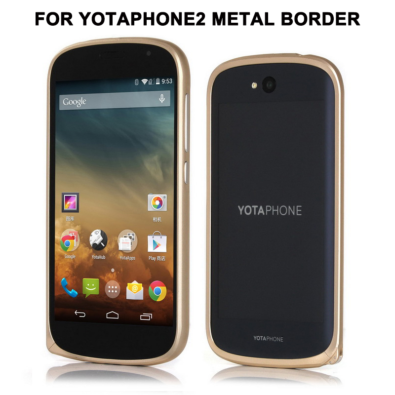Nyt til Yota Phone 2 Taske Luksus Ultra tynd Metal Aluminium Frame - Mobiltelefon tilbehør og reparation dele - Foto 3