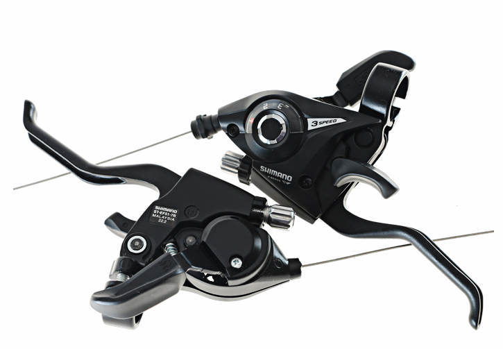SHIMANO ST EF51 Bicycle Derailleur 3*7//8 21//24 Speed Conjoined DIP Shift Lever