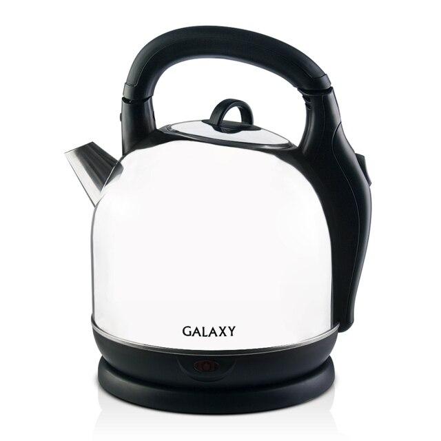 Чайник электрический Galaxy GL 0306 (мощность 2200 Вт, объем 3,6 л, корпус из нержавеющей стали, отсек для хранения шнура)