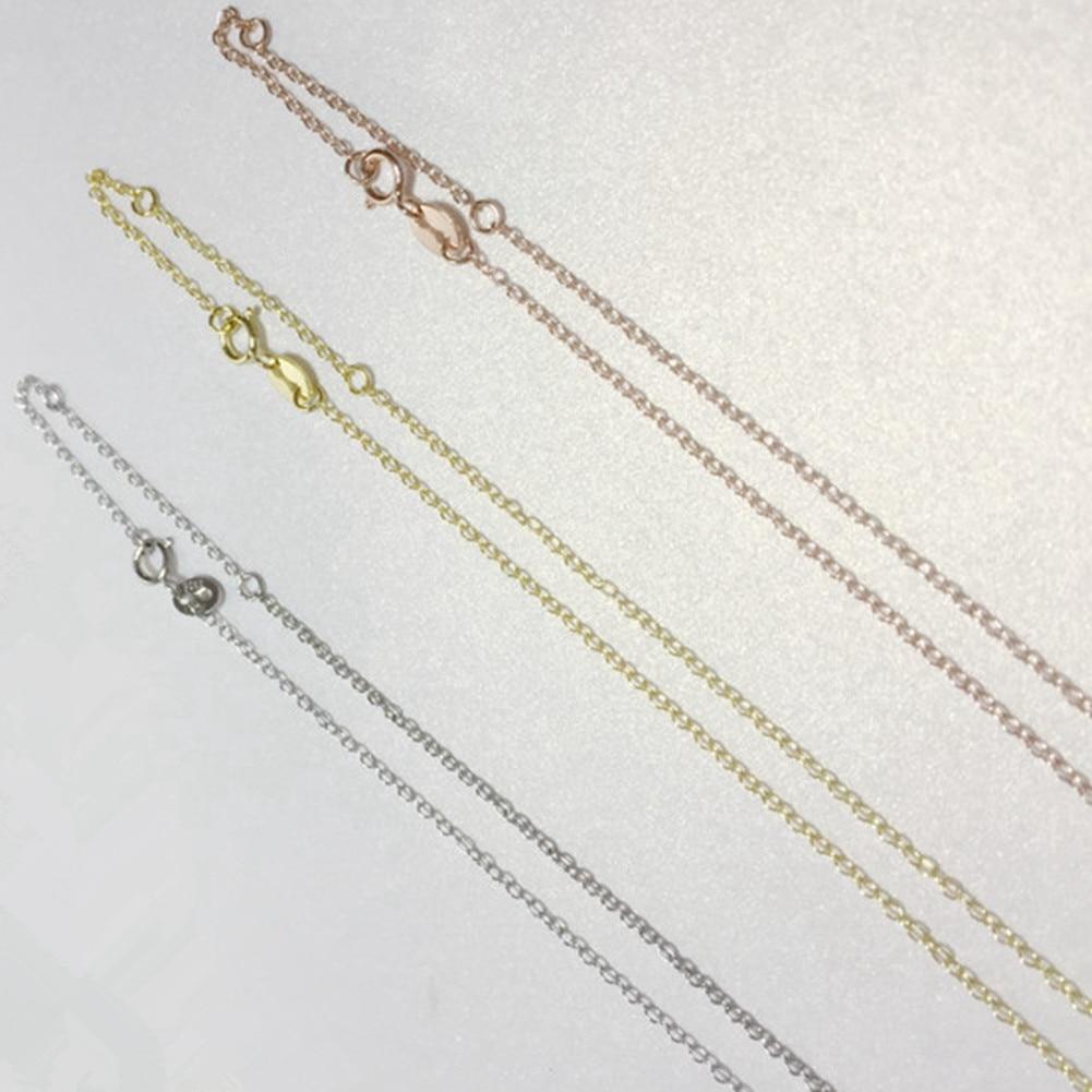 Պարզ ոճով սրտի վզնոց 925 կանանց զարդեր - Նուրբ զարդեր - Լուսանկար 4