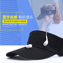 New Summer Earphone Hat Wireless Headphones Smart Sports Cap Baseball Headset Speaker Mic Bluetooth Headset Sun Hat