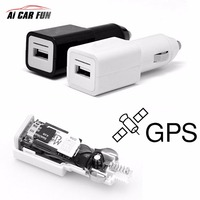 Mini Car GPS Tracker GSM GPRS Tracking Device TF SD SIM card USB Port for Android IOS with USB Charger