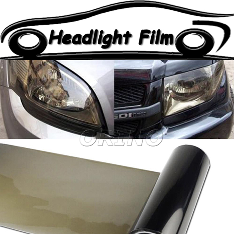 Exterior Accessories Color Name: Blue Car Headlight Auto Fog Lamp Sticker Protect Film Vinyl Wrap Overlays Sheet for All Car Car Smoke Waterproof Car Body Film