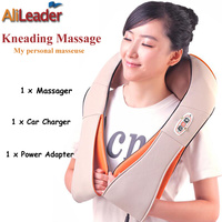 Made In China Health Products Heating Massage Pillow U Shape Electrical Shiatsu Back Neck Shoulder Body