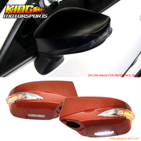 Fit For 13 19 Scion FRS Subaru BRZ Painted Mirror Cover Replacement LED ABS #H8R