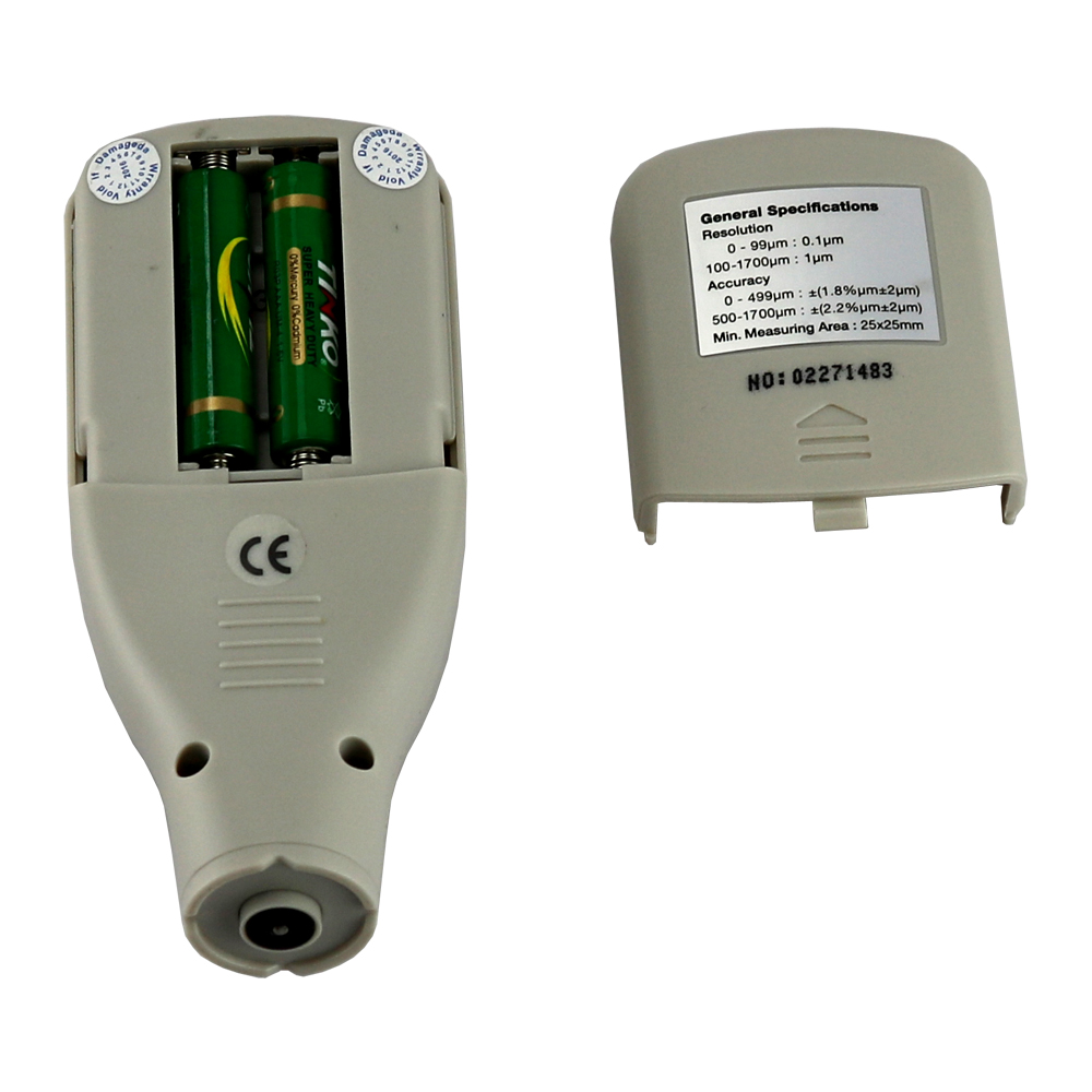 Cyfrowy miernik grubości lakieru z sondą samochodową Detektor - Przyrządy pomiarowe - Zdjęcie 3