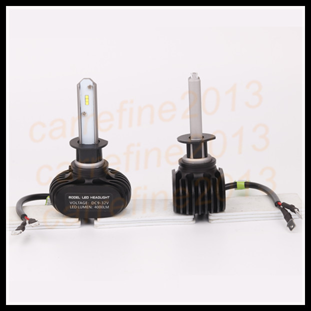 2 x cars H3 fog light led headlight H3 led headlamps H3 H1 bulb white car light lamp 12v 8000lm H1 H3 car led headlight
