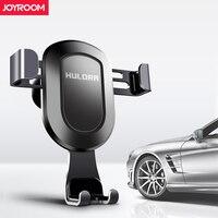 Joyroom Gravity Car Mobile Phone Holder Clip Type Air Vent Monut GPS Metal Car Phone Holder
